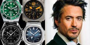 """""""Người sắt"""" Robert Downey Jr. và bộ sưu tập đồng hồ triệu USD"""
