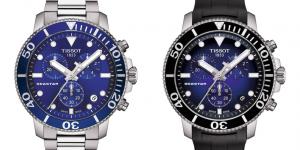Tissot ra mắt loạt đồng hồ lặn bấm giờ mới giá phải chăng