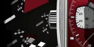 TAG Heuer Monaco xuất hiện phiên bản giới hạn màu đỏ rực