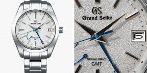"""Grand Seiko ra mắt phiên bản GMT giới hạn: """"Bão tuyết vùng Shirojiri"""""""
