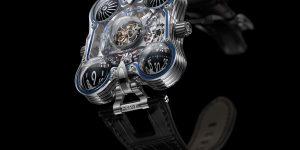 Đồng hồ trong suốt từ sapphire: Nét hấp dẫn không thể chối từ