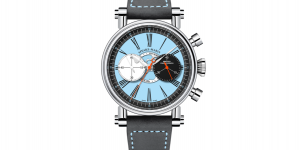 Speake-Marin phủ sắc xanh Only Watch lên đồng hồ London Chronograph