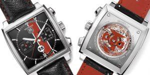 TAG Heuer ra mắt Monaco 55 bản hợp tác cực hiếm cùng Câu lạc bộ Porsche