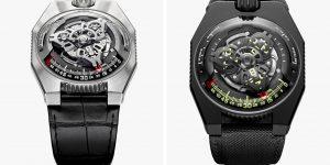 """Urwerk UR-100 Space Time: Đồng hồ hiển thị thông tin """"vô nghĩa"""" nhất thế giới"""