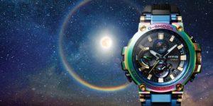 """Casio MTG Lunar Rainbow: Chiêm ngưỡng ánh """"cầu vồng"""" từ G-Shock"""
