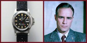 Đồng hồ Rolex GMT của Marlon Brando được chốt giá 1,8 triệu USD