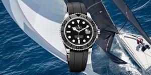 Siêu phẩm của năm: Yacht-Master 42 – Đồng hồ trên cổ tay, trên đầu là cánh buồm căng gió
