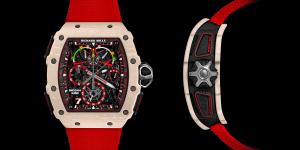 RM 50-04 Tourbillon Split-Seconds Chronograph Kimi Räikkönen ra mắt nhân Cuộc đua F1