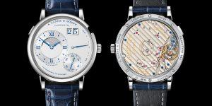 Lên tay A. Lange & Sohne Grand Lange 1 Moon Phase kỷ niệm 25 năm