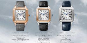 Đồng hồ lên dây cót tay Cartier Santos-Dumont XL 2020 ra mắt phiên bản thép