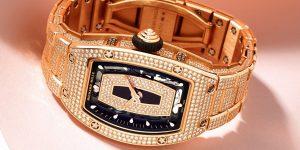 Vàng, da, lụa, cao su và cá sấu – vì sao dây đeo Richard Mille lại được nhiều phụ nữ yêu thích?