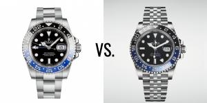 Chiếc nào đẹp hơn – Rolex Batman hay Batgirl?