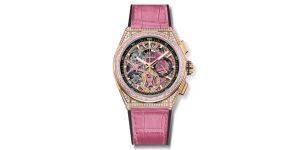 Zenith Defy El Primero 21 Pink: Vật phẩm nóng bỏng dành tặng cho phái đẹp