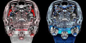 Bugatti Chiron Tourbillon by Jacob & Co.: Khi đồng hồ và siêu xe hòa làm một