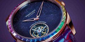 Đồng hồ sắc cầu vồng: Xu hướng độc đáo trong năm 2020