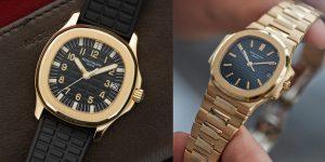 Nên chọn Audemars Piguet hay Patek Philippe khi đồng hồ vàng có giá thấp hơn đồng hồ thép?