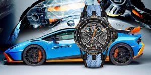Roger Dubuis Excalibur Spider Huracán STO: Siêu phẩm lấy cảm hứng từ siêu xe