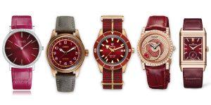Nổi bật phong cách năm mới 2021 với 5 mẫu đồng hồ mang sắc đỏ