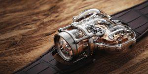 """MB&F Horological Machine N° 9 """"Sapphire Vision"""" chính thức chào sân với giá 440.000 USD"""