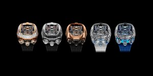 Jacob & Co. Bugatti Chiron Tourbillon: Khi siêu xe kết hợp siêu đồng hồ