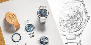Piaget cập nhật thêm phiên bản Skeleton cho dòng đồng hồ thể thao Polo