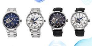 Orient Star Mechanical Moon Phase: Siêu phẩm đỉnh cao từ nhà sản xuất đồng hồ xứ Phù Tang
