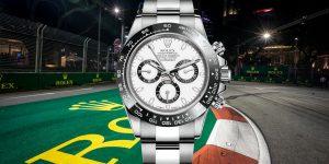 Rolex đưa WOW vào đường đua Công thức 1 Grand Prix Singapore