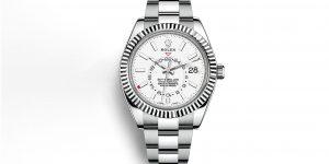 Rolex Sky-Dweller: Chiếc đồng hồ mặt số trắng mà phái mạnh luôn tìm kiếm