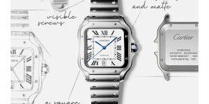 Cartier Santos de Cartier: Kiệt tác trên cổ tay