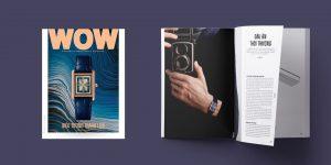 WOW Vietnam Fall Issue Special Cover: Tank Louis Cartier – Biểu tượng thanh lịch